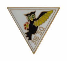 No. 316 (City of Warsaw) Polish Fighter Squadron Royal Air Force RAF Pin Badge
